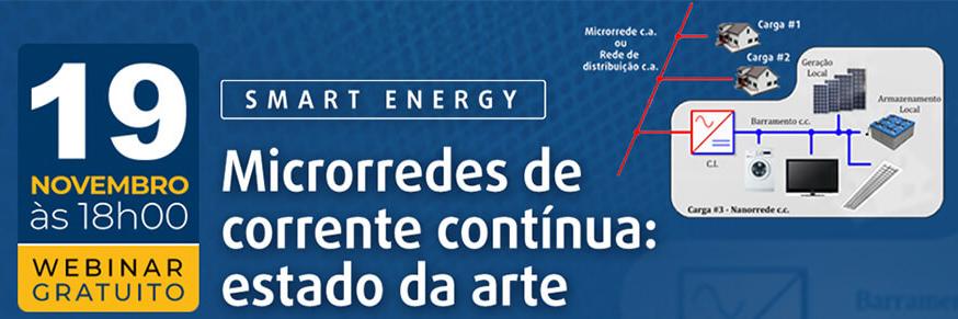 Prof. Thiago de Oliveira participa de Webinar sobre Microrredes c.c. promovido pela Revista Eletricidade Moderna.